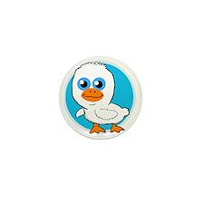 Cute Ducky Mini Button