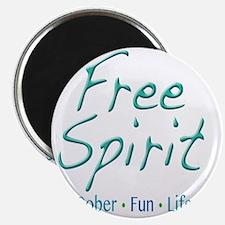 Free Spirit - Sober Fun Life Magnet