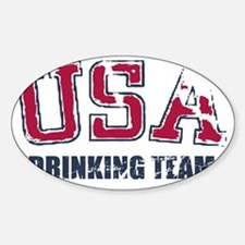 USA Drinking Team Decal