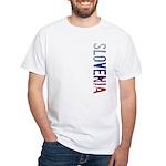 Slovenia White T-Shirt