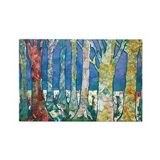 TreeTapestry Rectangle Magnet