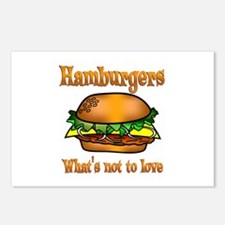 Hamburgers to Love Postcards (Package of 8)