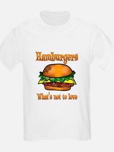 Hamburgers to Love T-Shirt