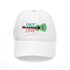 Uke Love Baseball Cap