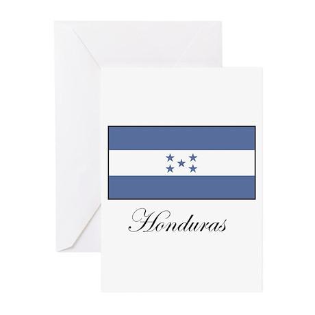 Honduras - Flag Greeting Cards (Pk of 10)