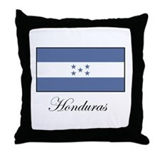 Honduras - Flag Throw Pillow