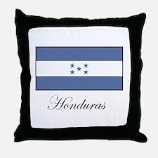 Honduras - Flag Throw Pillow