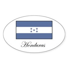 Honduras - Flag Oval Decal