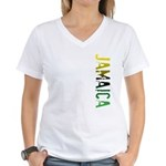 Jamaica Women's V-Neck T-Shirt