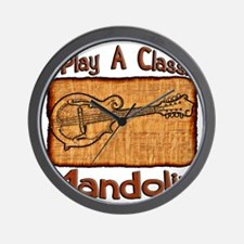 Classic Mandolin Wall Clock