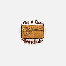 Classic Mandolin Mini Button