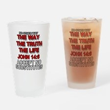 One Way Drinking Glass