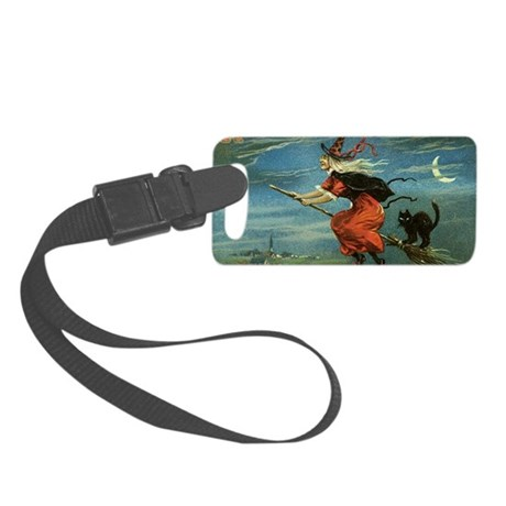 Halloween Witch Small Luggage Tag