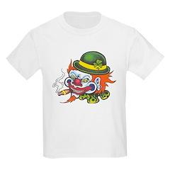 Lucky Irish Killer Clowns Kids T-Shirt