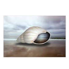Surrealistic Seashell Postcards (Pkg of 8)