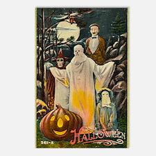 Vintage Halloween Trick r Postcards (Package of 8)