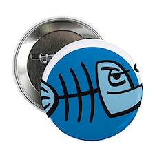 """dead fish 2.25"""" Button"""