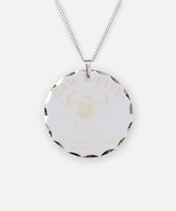Vintage Raw for Life Necklace