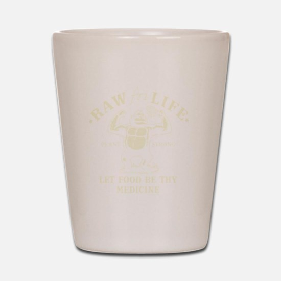 Vintage Raw for Life Shot Glass