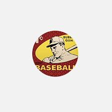 Bubble Gum Baseball Mini Button