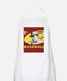 Bubble Gum Baseball Apron