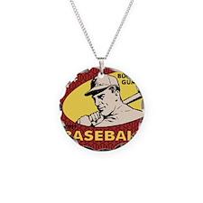 Bubble Gum Baseball Necklace