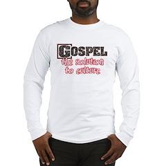 Gospel Solution Long Sleeve T-Shirt