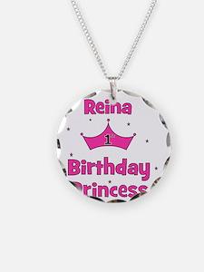 CUSTOM 1st Birthday Princess Necklace