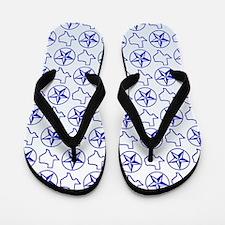Texas Star Flip Flops