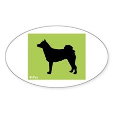 Norrbottenspets iPet Oval Decal