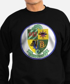 uss sigourney patch transparent Sweatshirt