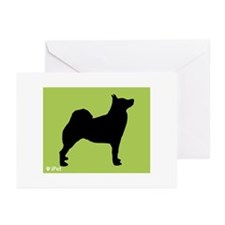 Buhund iPet Greeting Cards (Pk of 10)