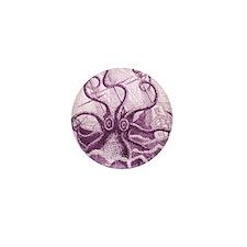 Purple Kraken Mini Button