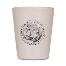 North Carolina State Seal Shot Glass