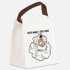 Custom Bride Canvas Lunch Bag