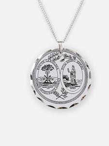 South Carolina State Seal Necklace