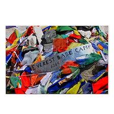 Everest Base Camp-Everest Postcards (Package of 8)