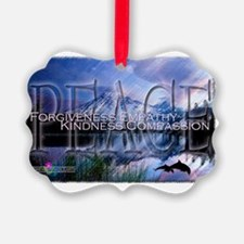CE - Peace Ornament
