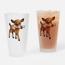 killer bambi Drinking Glass