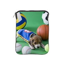 Beagle Puppy and Sports iPad Sleeve