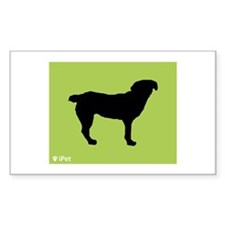 Entlebucher iPet Rectangle Decal