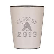 Class Of 2013 Hockey Shot Glass