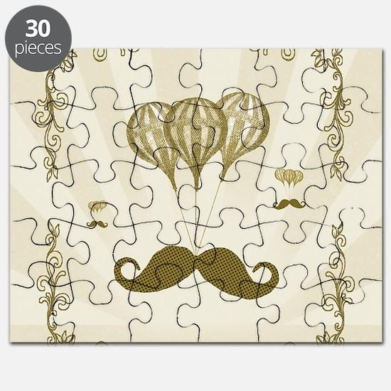 Balloon Moustache Puzzle