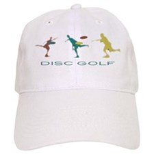 Disc Golf Triple Play Baseball Baseball Cap