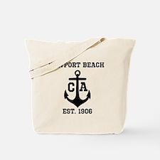 Newport Beach anchor design Tote Bag