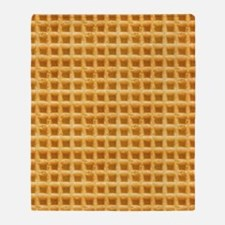 Yummy Giant Waffle Throw Blanket