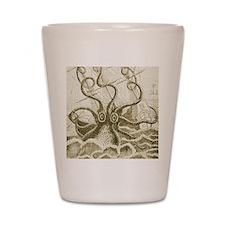 Sepia Kraken Shot Glass