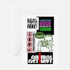 Vegan/Animal Rights Scrapbook Greeting Card