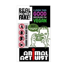 Vegan/Animal Rights Scrapbook Decal