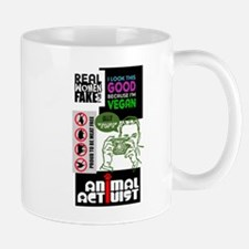 Vegan/Animal Rights Scrapbook Mug